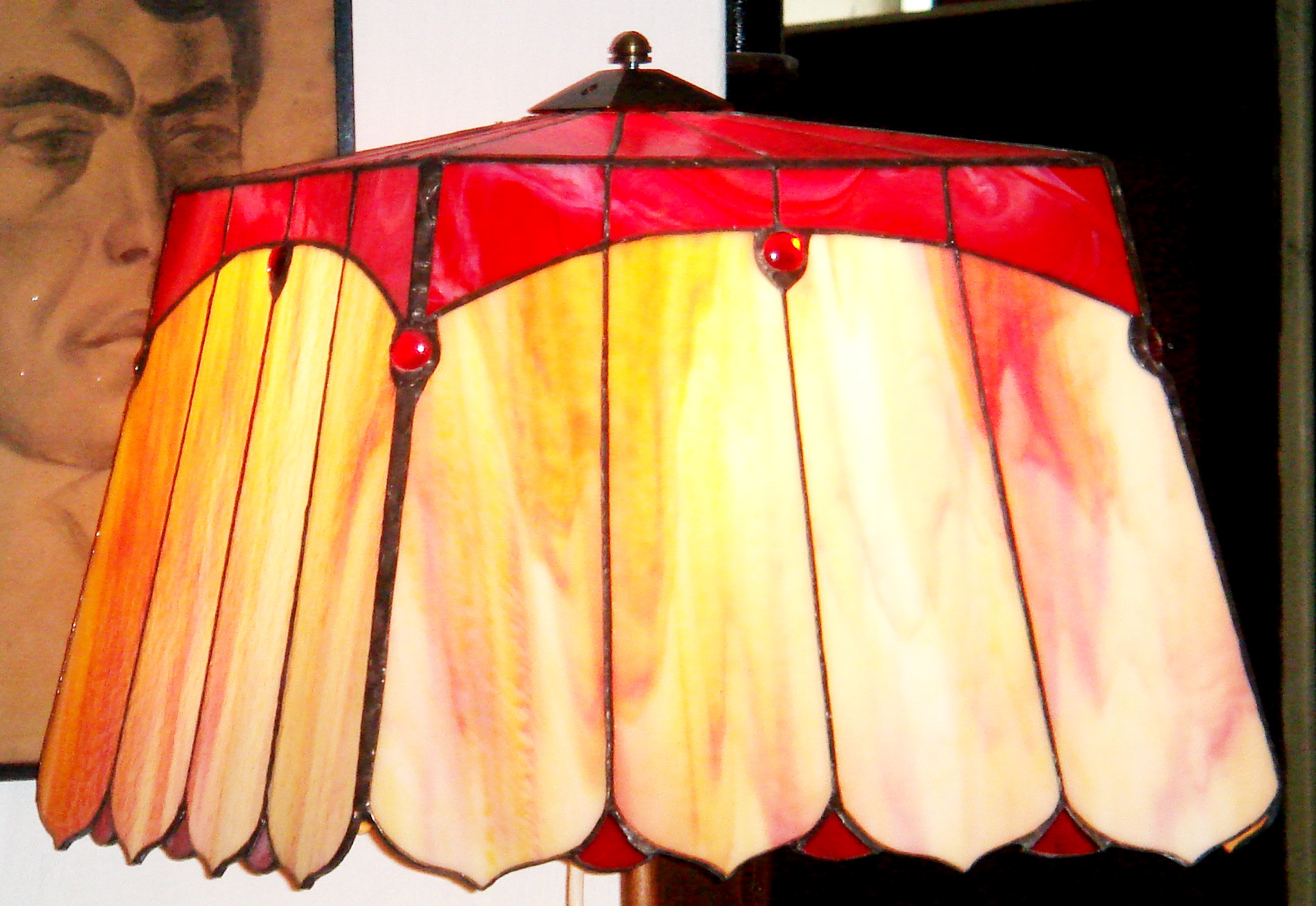 Tiffany-allolampa-rozsaszines-buraval