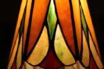 Új tiffany lámpa , virágos