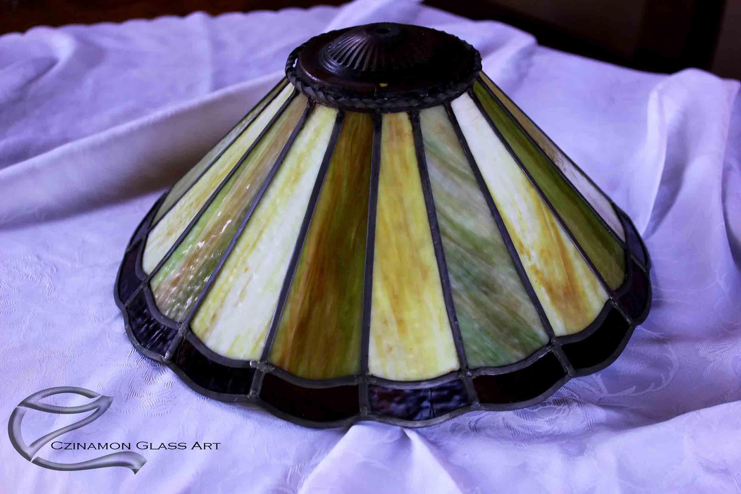 Ólomüveg lámpa